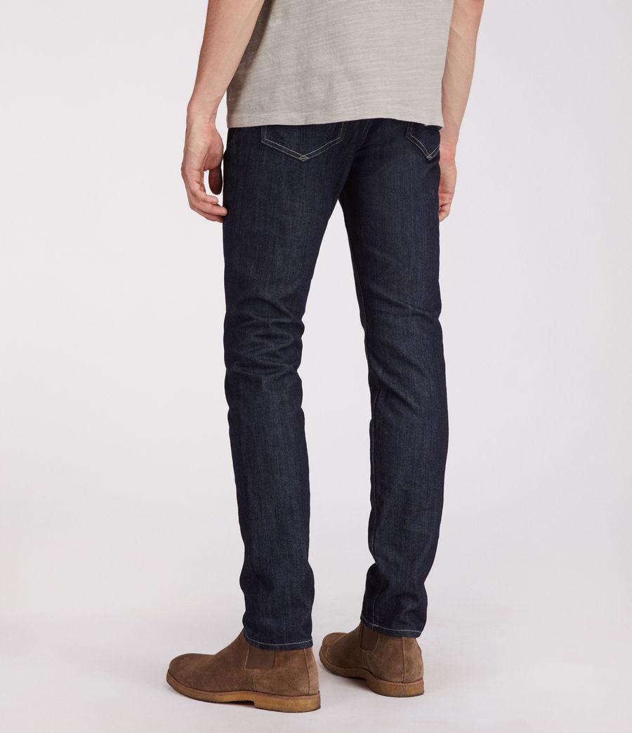 Men's Ivyside Rex Straight Skinny Jeans (indigo) - Image 4