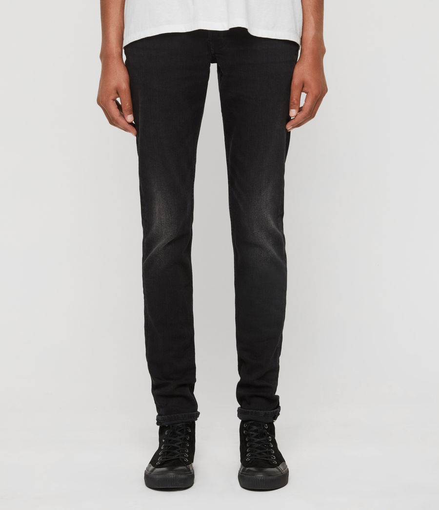 Men's Rex Slim Jeans, Dark Grey (dark_grey) - Image 1