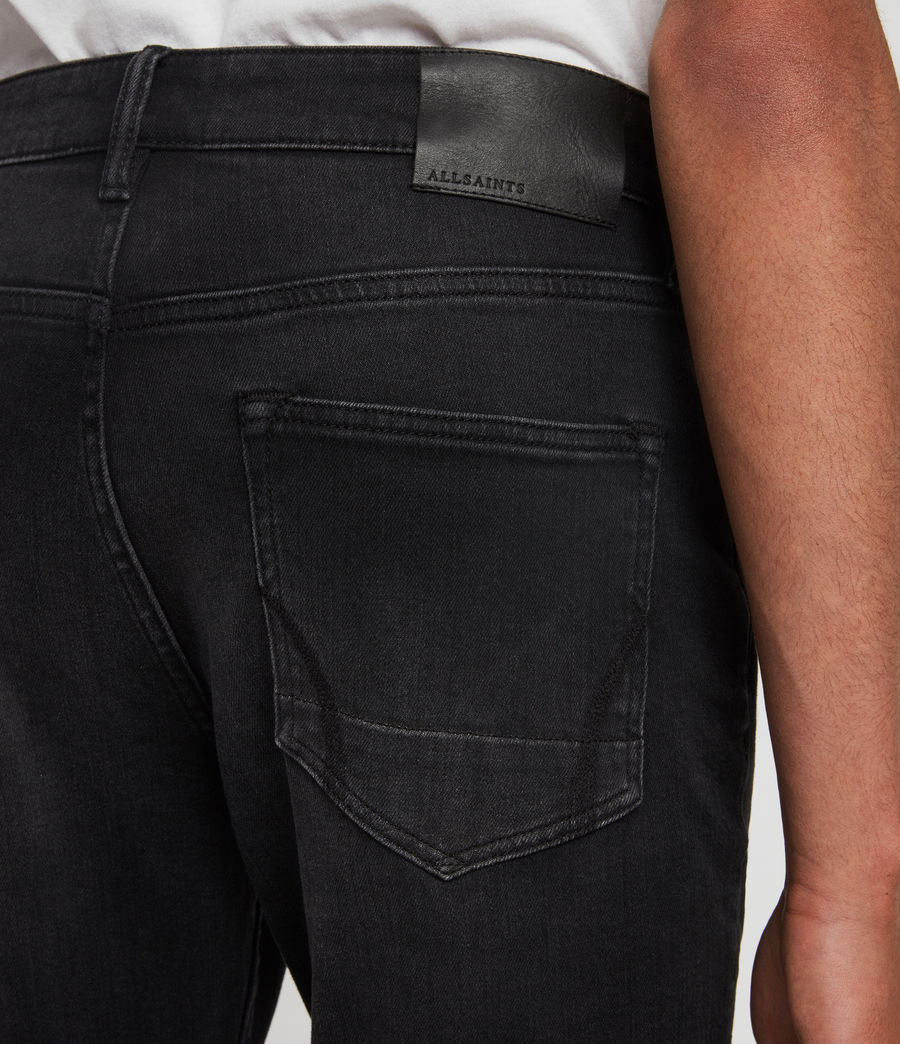Men's Rex Slim Jeans, Dark Grey (dark_grey) - Image 6