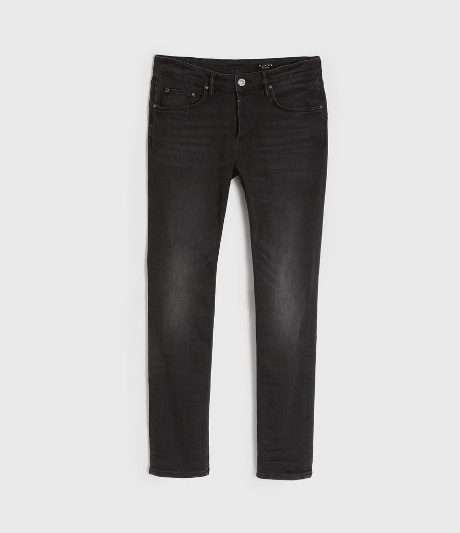 Men's Rex Slim Jeans, Dark Grey (dark_grey) - Image 8