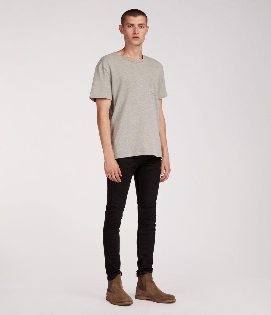 Mens Boda Cigarette Skinny Jeans (jet_black) - Image 3