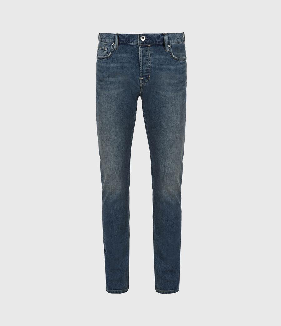 Men's Rex Slim Jeans, Washed Indigo (washed_indigo) - Image 2