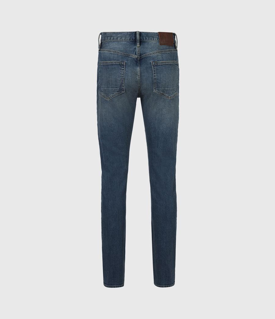Men's Rex Slim Jeans, Washed Indigo (washed_indigo) - Image 3