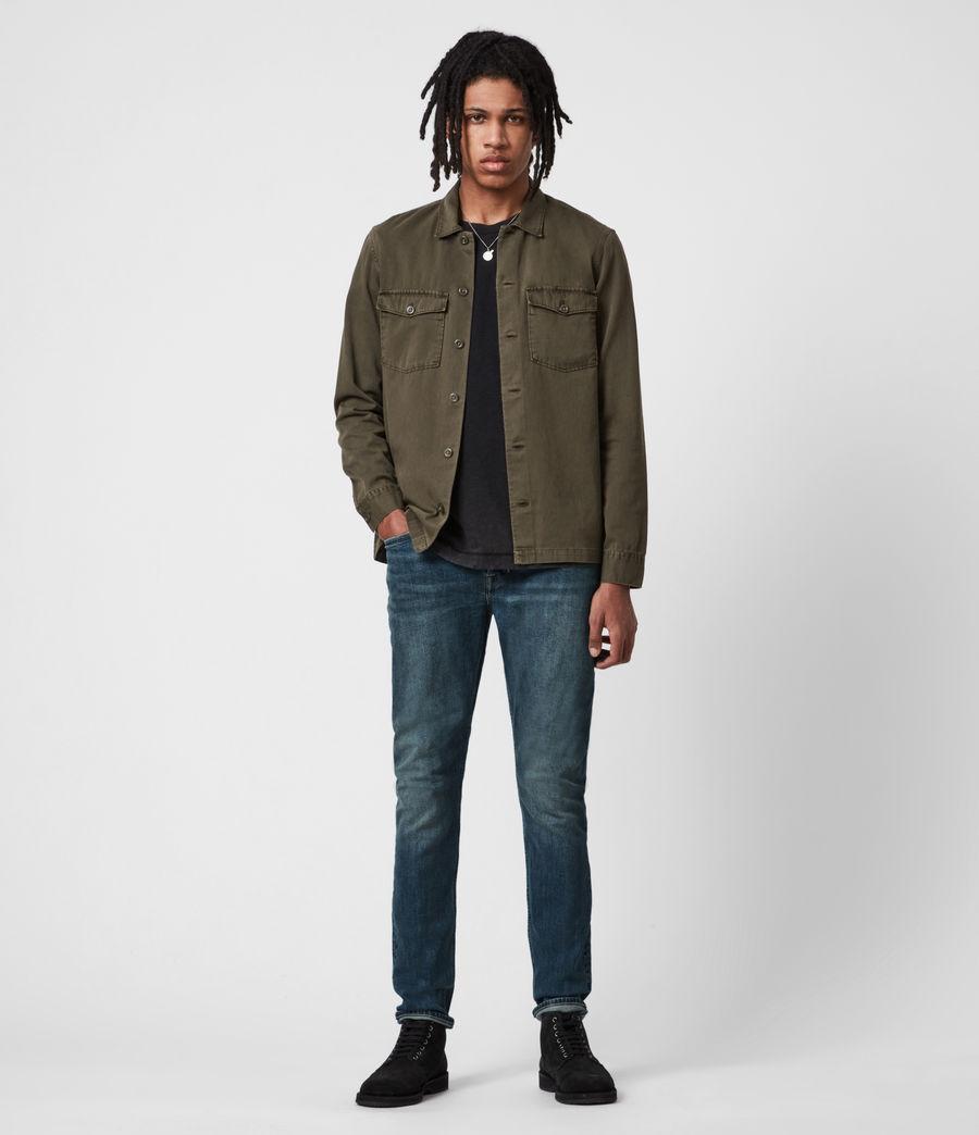 Men's Rex Slim Jeans, Washed Indigo (washed_indigo) - Image 4