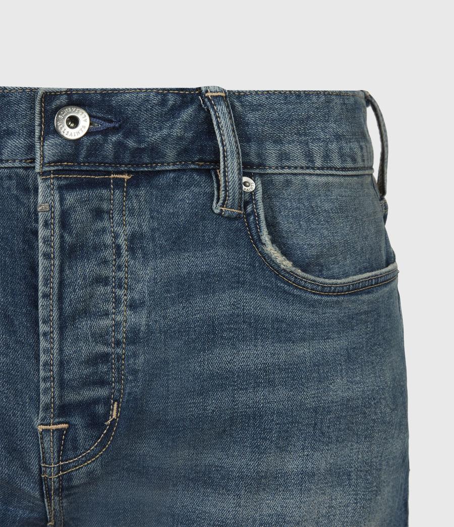 Men's Rex Slim Jeans, Washed Indigo (washed_indigo) - Image 5