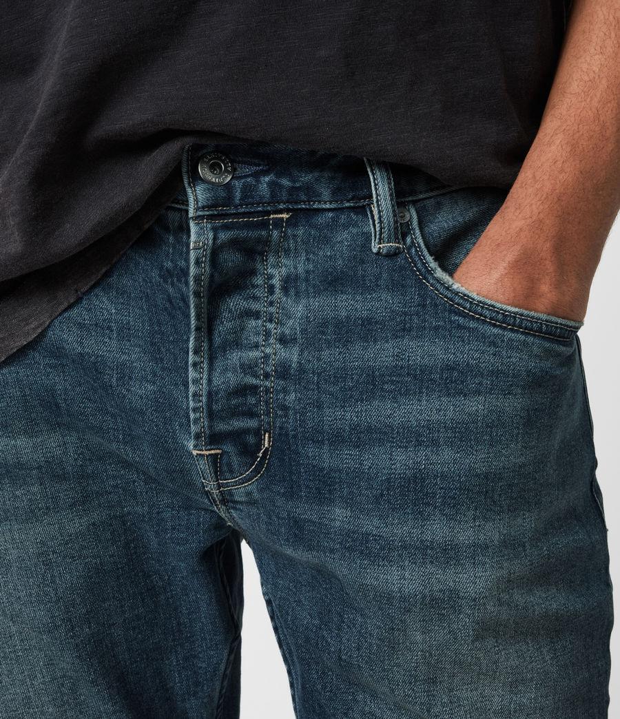 Men's Rex Slim Jeans, Washed Indigo (washed_indigo) - Image 6