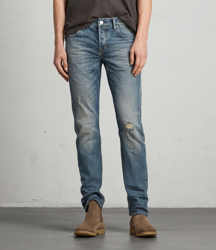 Mens Iowa Reed Straight Jeans (indigo) - Image 1