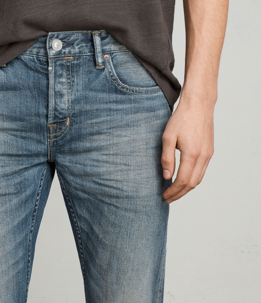 Mens Iowa Reed Straight Jeans (indigo) - Image 2