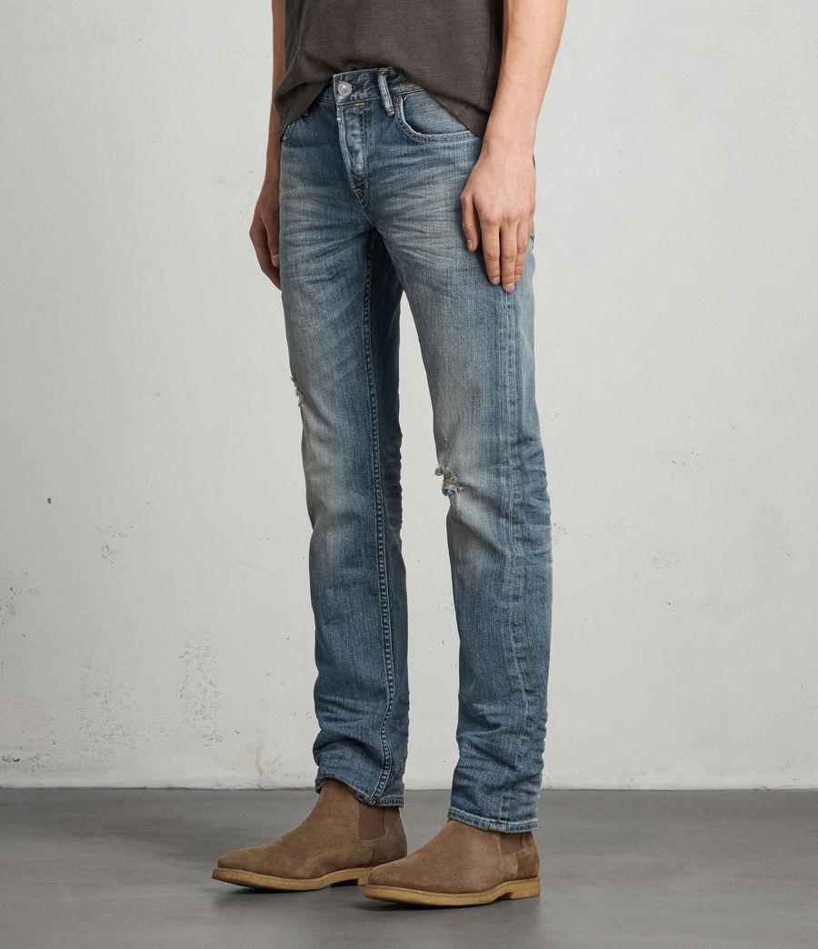 Mens Iowa Reed Straight Jeans (indigo) - Image 3