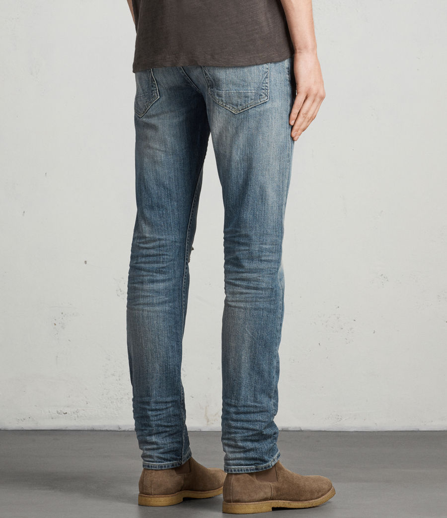 Mens Iowa Reed Straight Jeans (indigo) - Image 4