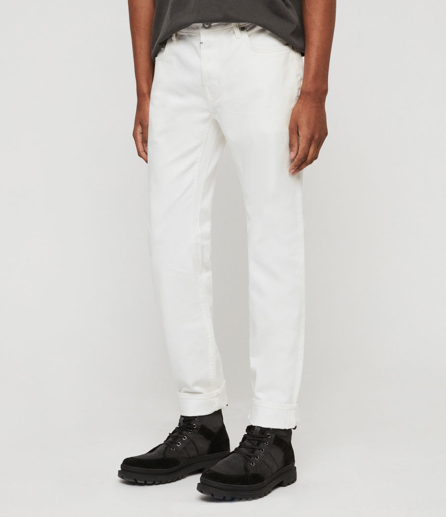 Men's Rex Slim Jeans, Chalk (chalk) - Image 2