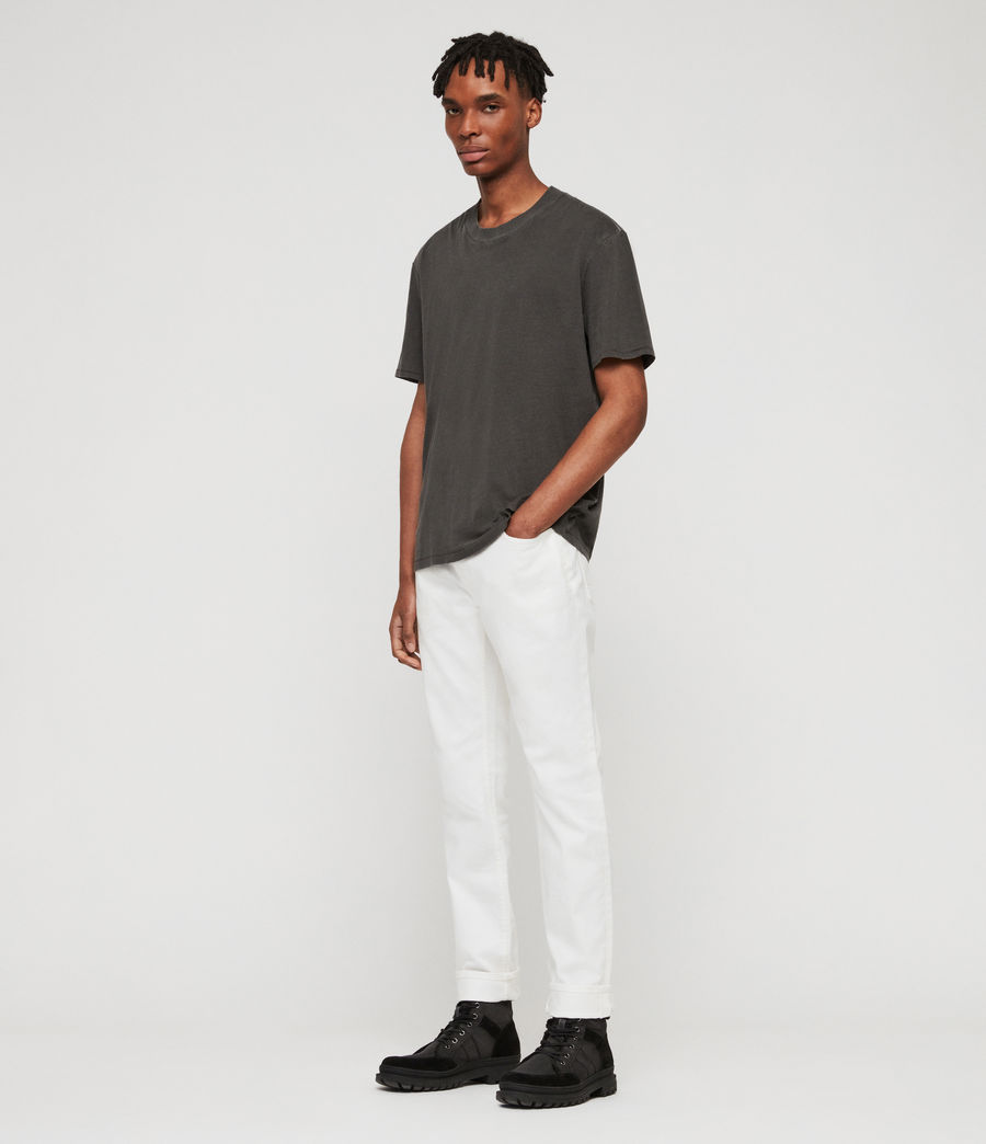 Men's Rex Slim Jeans, Chalk (chalk) - Image 3