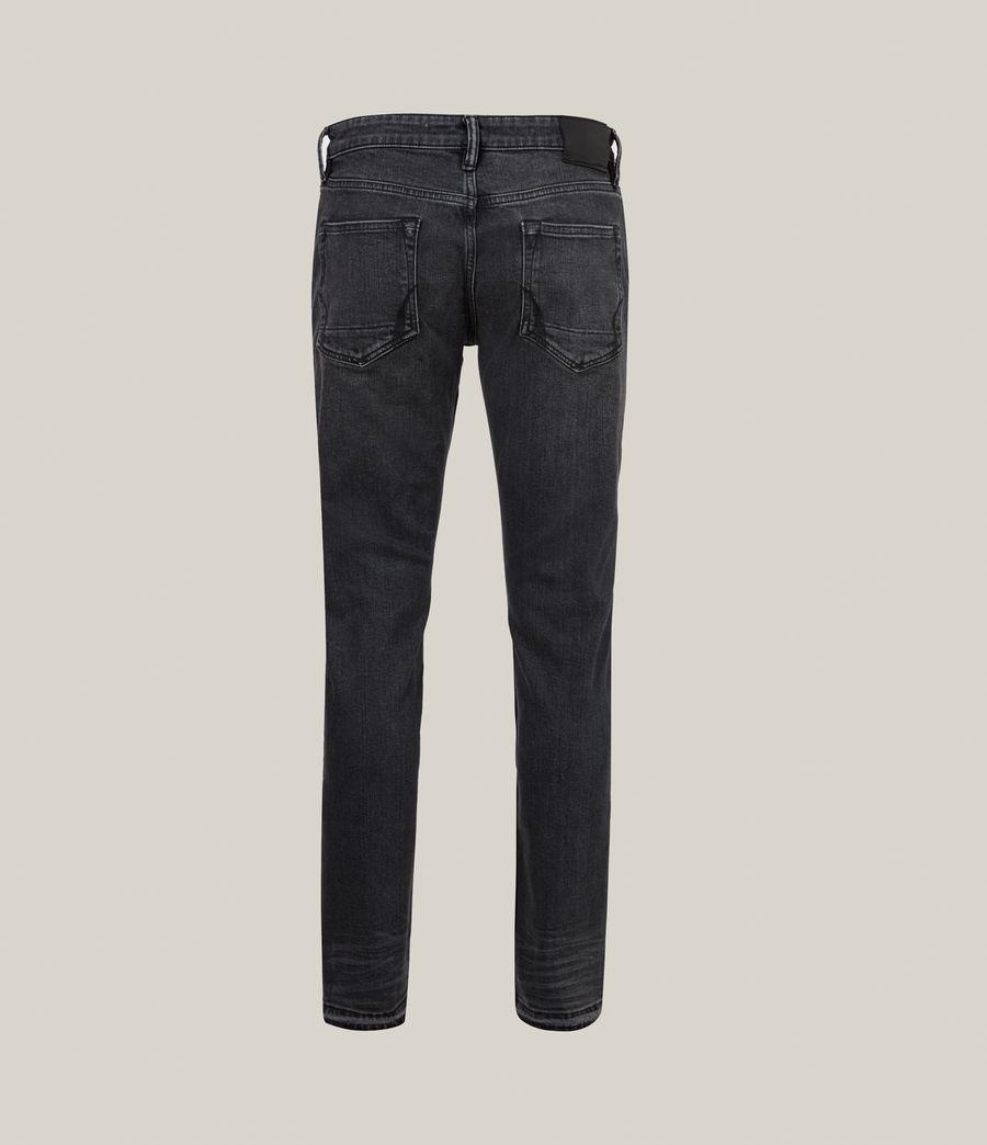 Herren Rex Slim Jeans, Washed Black (washed_black) - Image 4