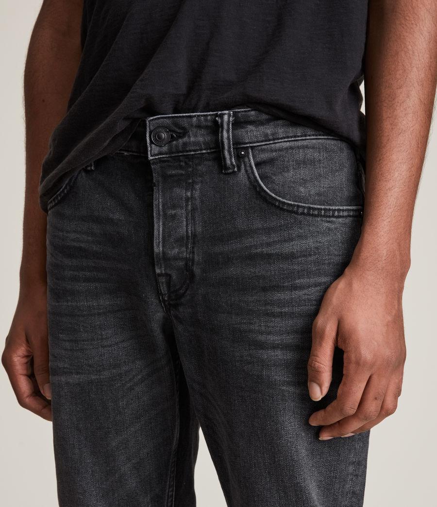 Herren Rex Slim Jeans, Washed Black (washed_black) - Image 5