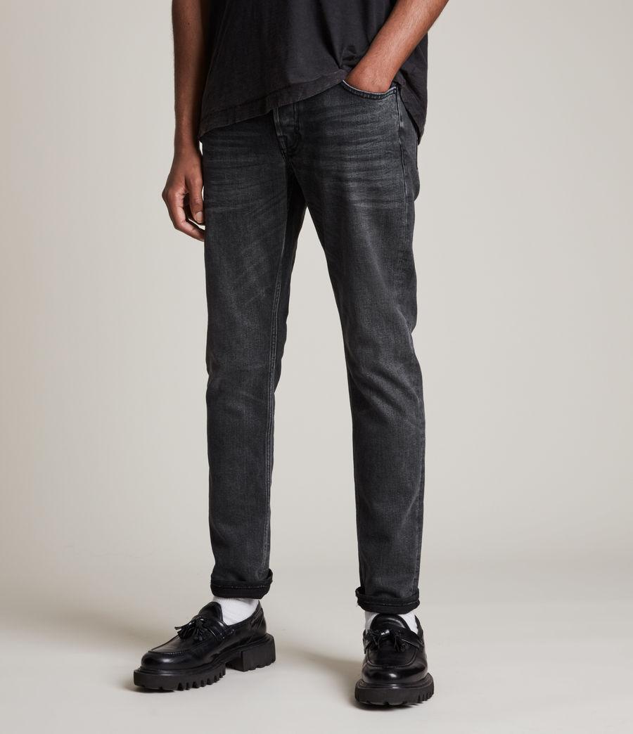 Herren Rex Slim Jeans, Washed Black (washed_black) - Image 6