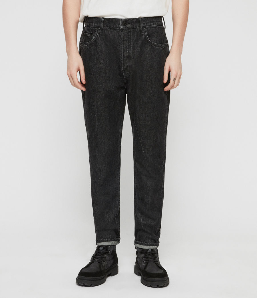 Uomo Jeans Ridge Affusolati (washed_black) - Image 1
