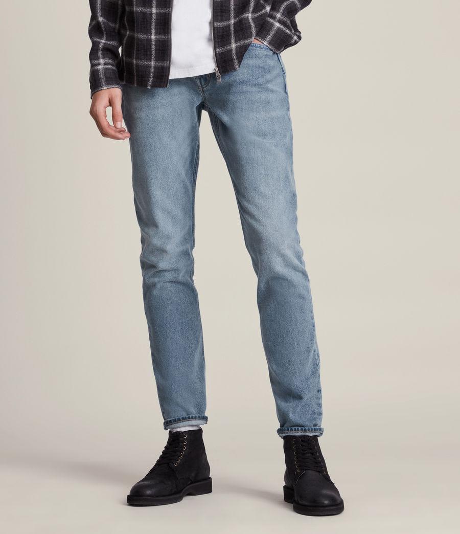 Men's Rex Slim Jeans, Mid Indigo (mid_indigo) - Image 1