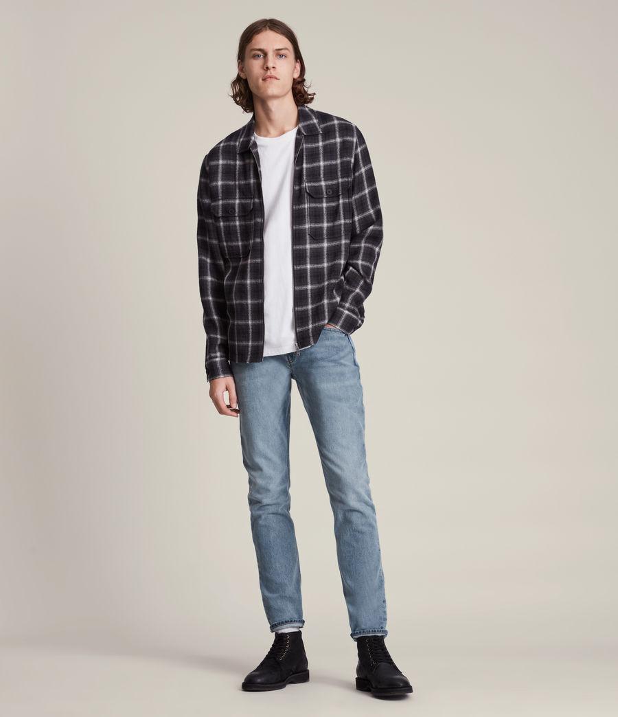 Men's Rex Slim Jeans, Mid Indigo (mid_indigo) - Image 2