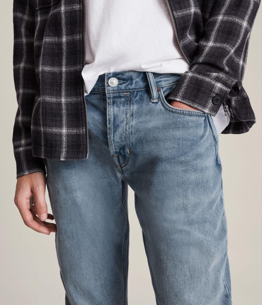Men's Rex Slim Jeans, Mid Indigo (mid_indigo) - Image 3