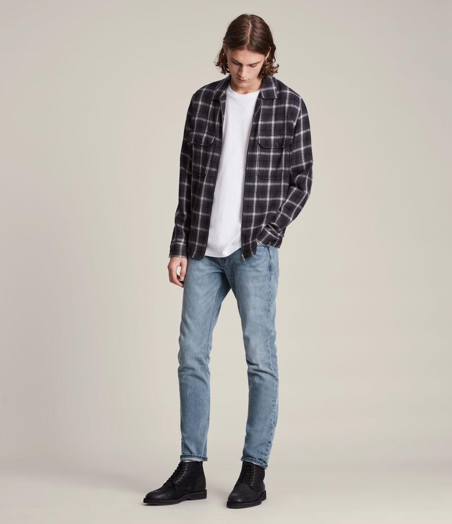 Men's Rex Slim Jeans, Mid Indigo (mid_indigo) - Image 4