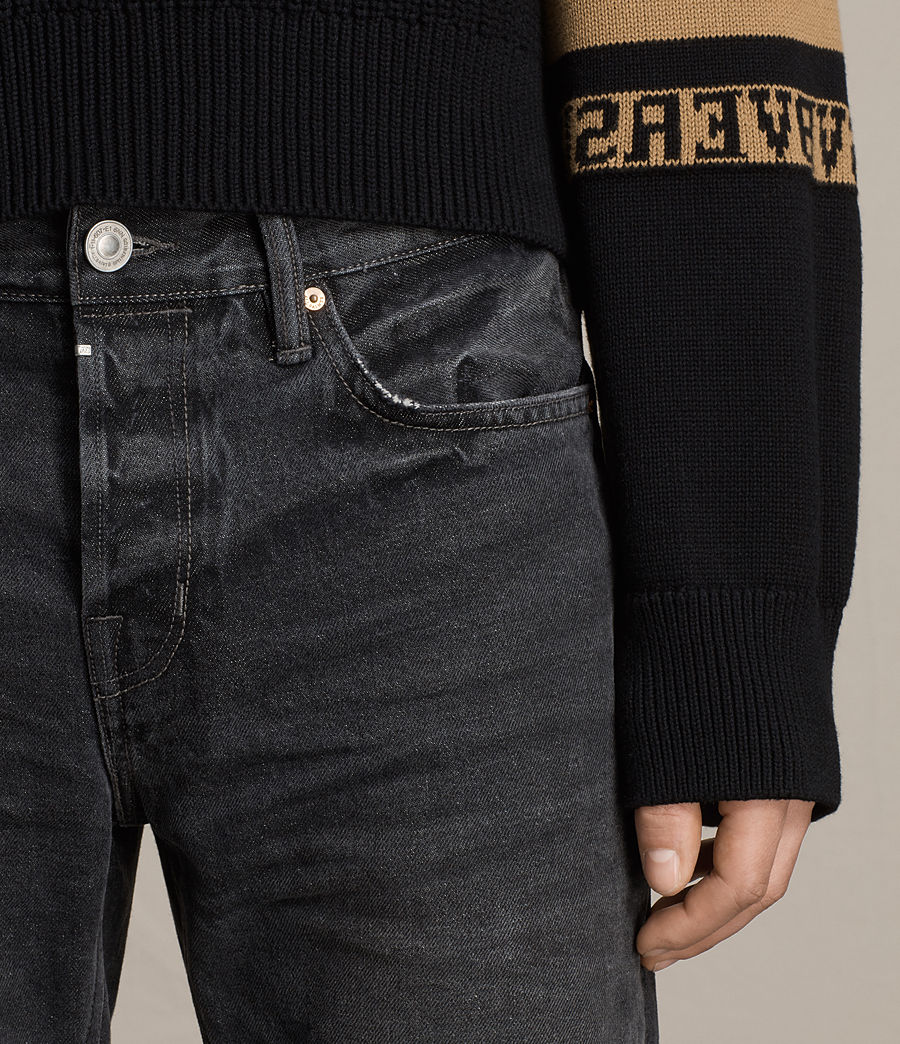 Men's Baker Sid Jeans (black) - Image 3