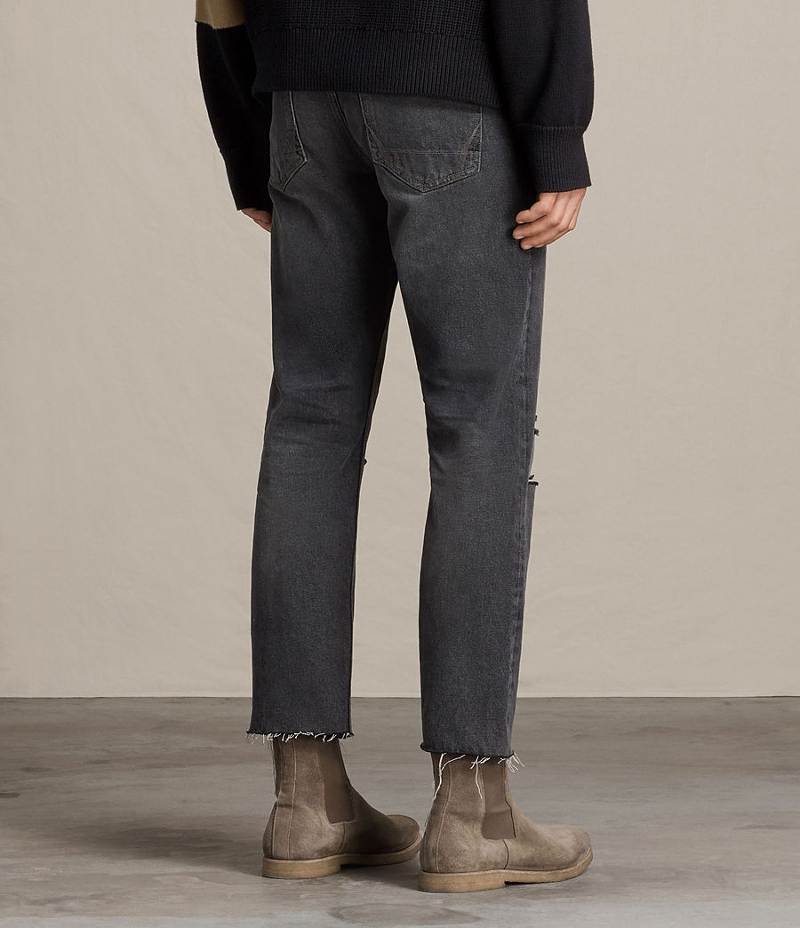 Men's Baker Sid Jeans (black) - Image 4