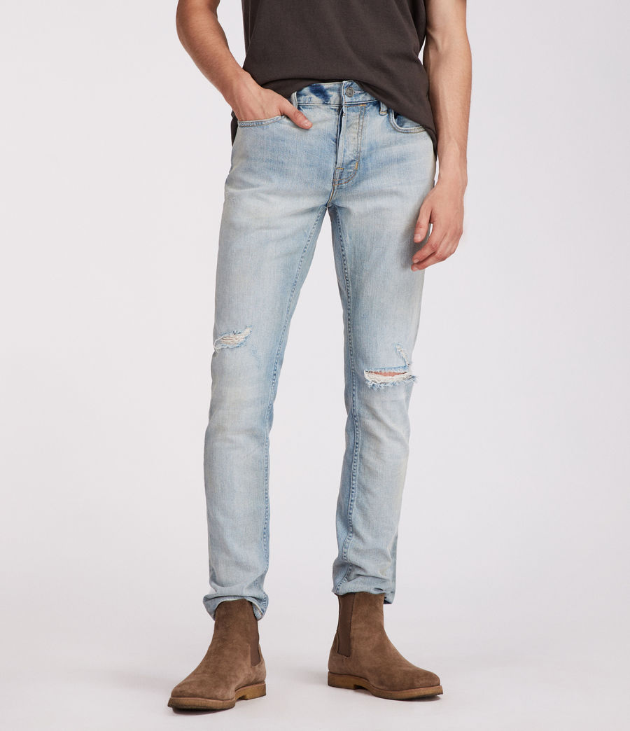 Mens Iredell Rex Straight Skinny Jeans (indigo) - Image 1