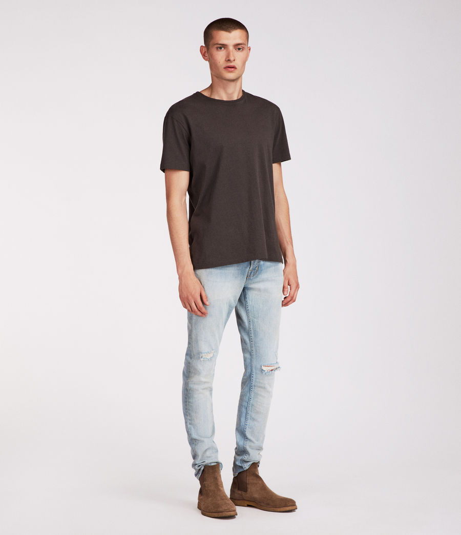 Mens Iredell Rex Straight Skinny Jeans (indigo) - Image 3