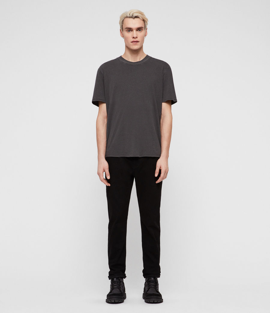 Men's Carter Straight Jeans, Jet Black (jet_black) - Image 3