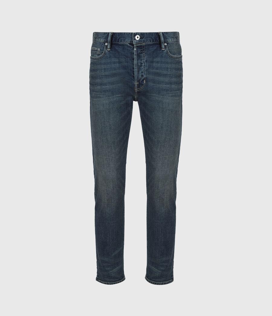Men's Dean Cropped Slim Jeans, Dirty Indigo (dirty_indigo) - Image 2