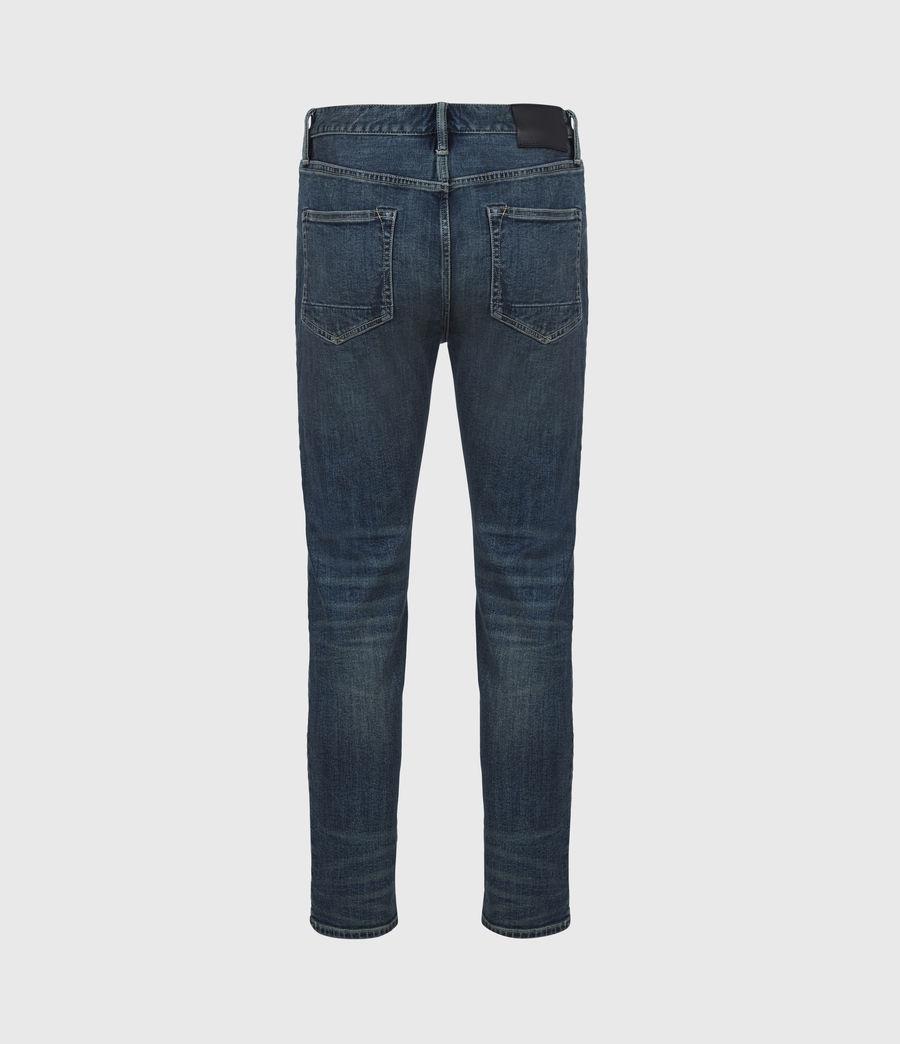 Men's Dean Cropped Slim Jeans, Dirty Indigo (dirty_indigo) - Image 3