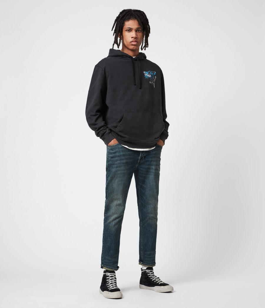 Men's Dean Cropped Slim Jeans, Dirty Indigo (dirty_indigo) - Image 4