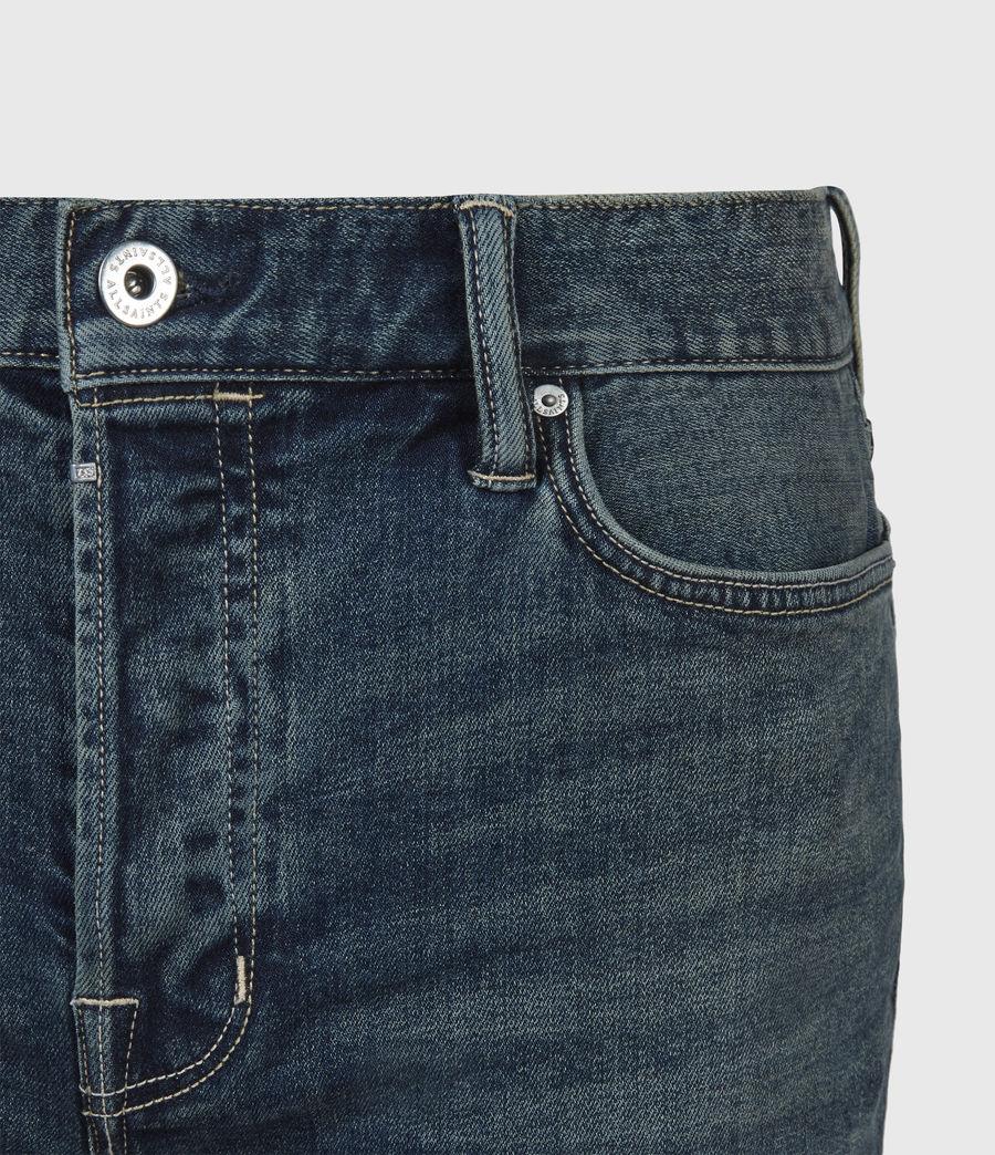 Men's Dean Cropped Slim Jeans, Dirty Indigo (dirty_indigo) - Image 5