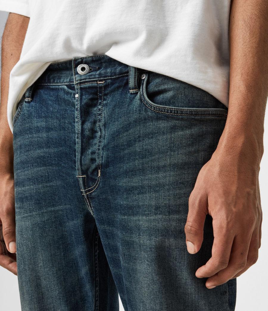 Men's Dean Cropped Slim Jeans, Dirty Indigo (dirty_indigo) - Image 6