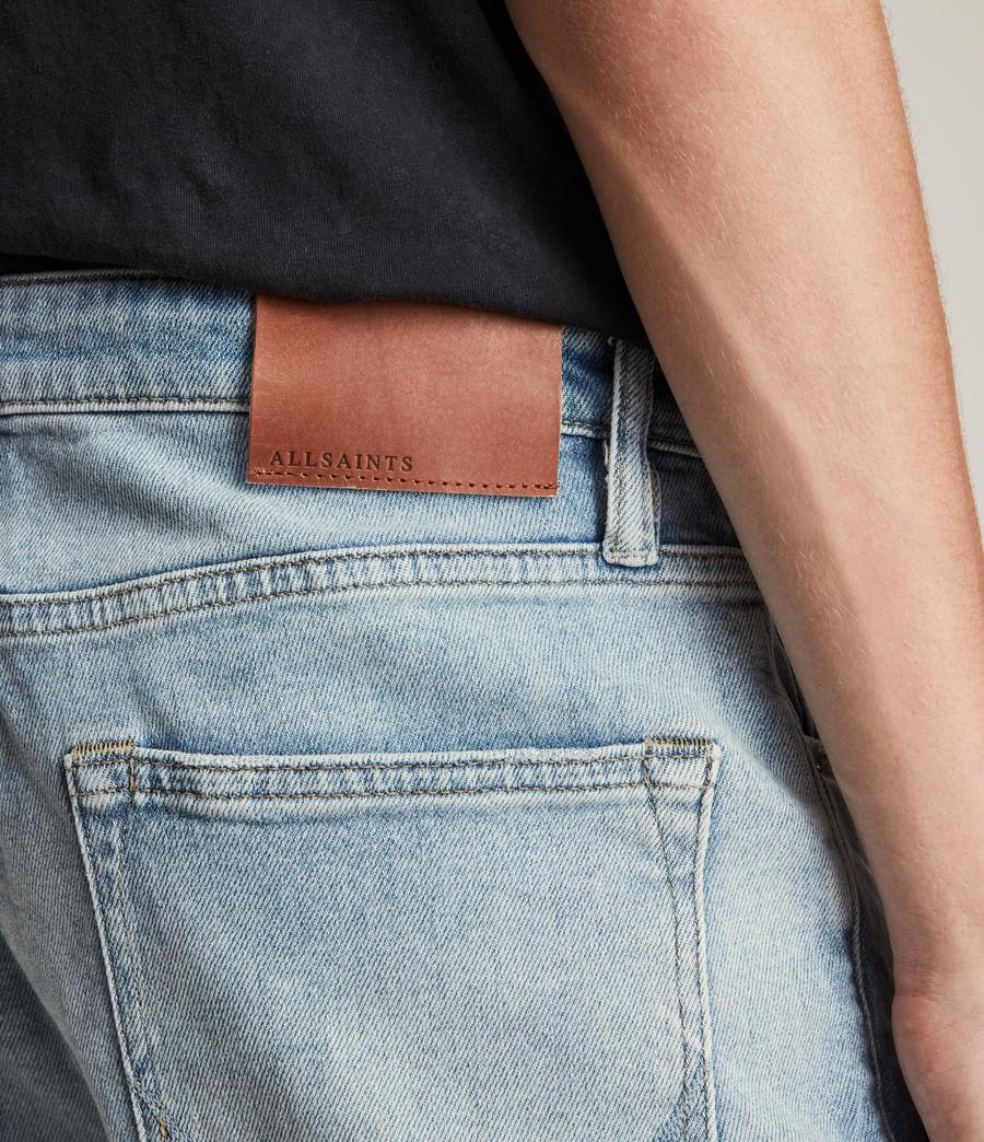 Herren Jack Damaged Straight Jeans, Helles Indigo (light_indigo) - Image 3