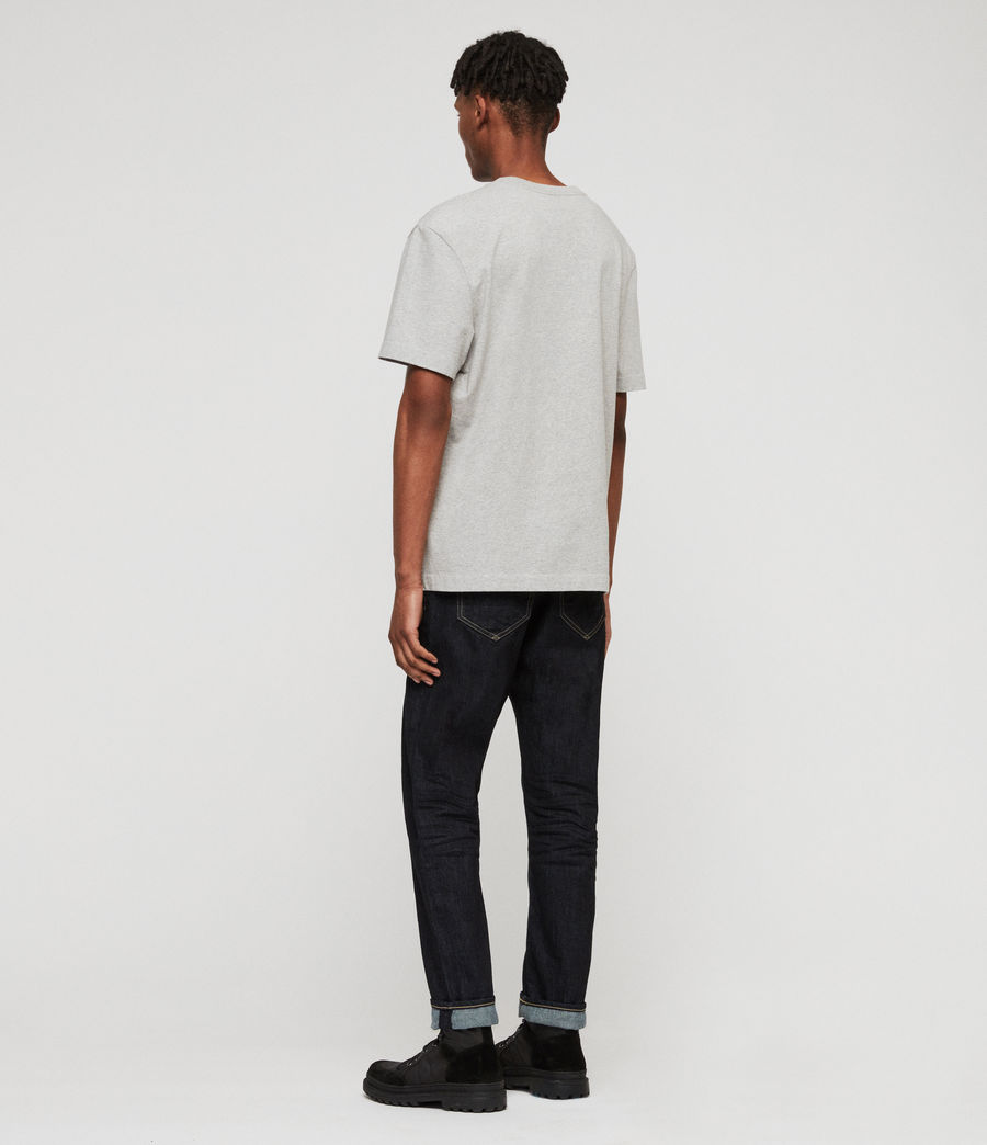Men's Ridge Tapered Jeans, Dark Indigo Blue (dark_indigo_blue) - Image 5