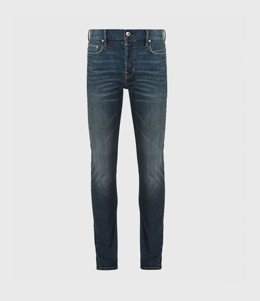 Men's Ronnie Extra Skinny Jeans, Washed Indigo (washed_indigo) - Image 2