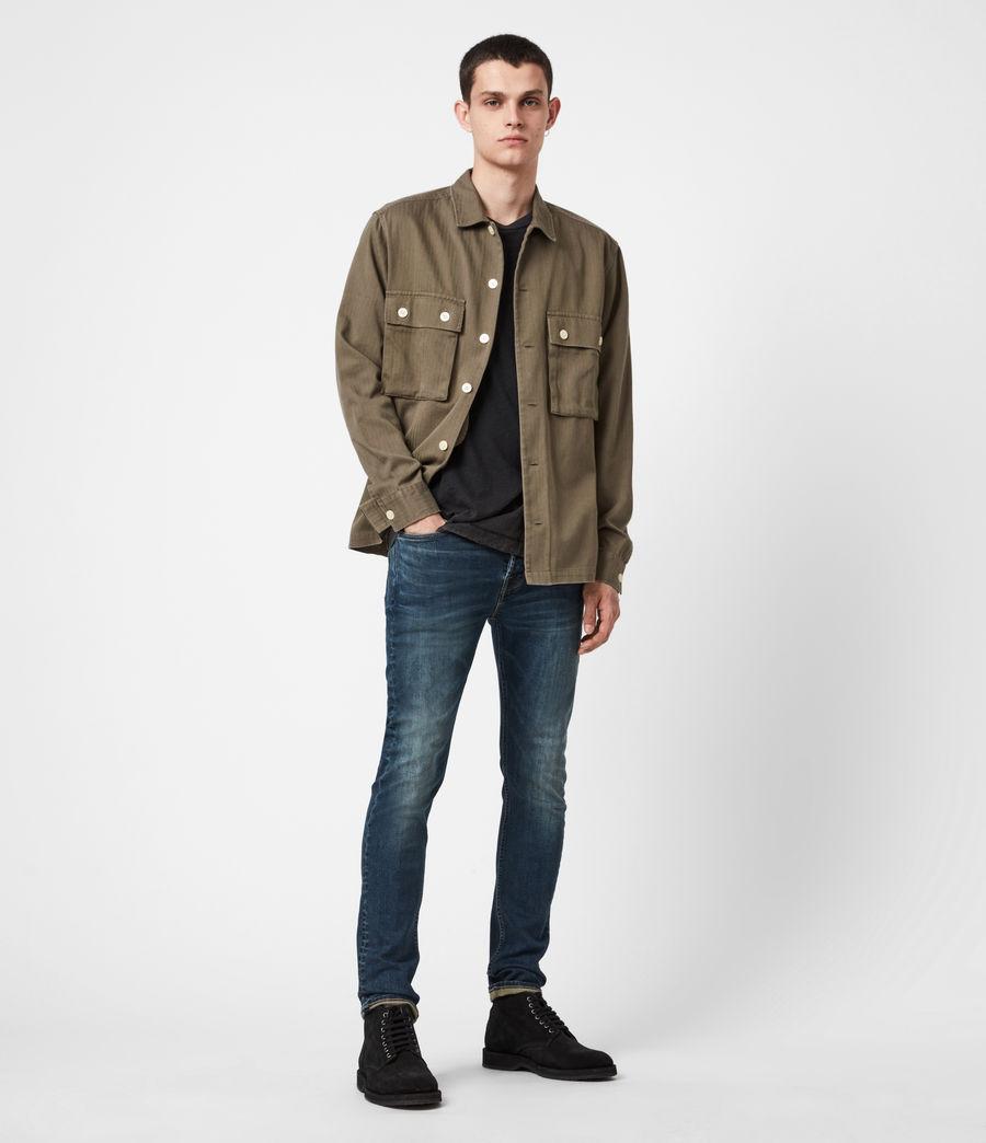 Men's Ronnie Extra Skinny Jeans, Washed Indigo (washed_indigo) - Image 4