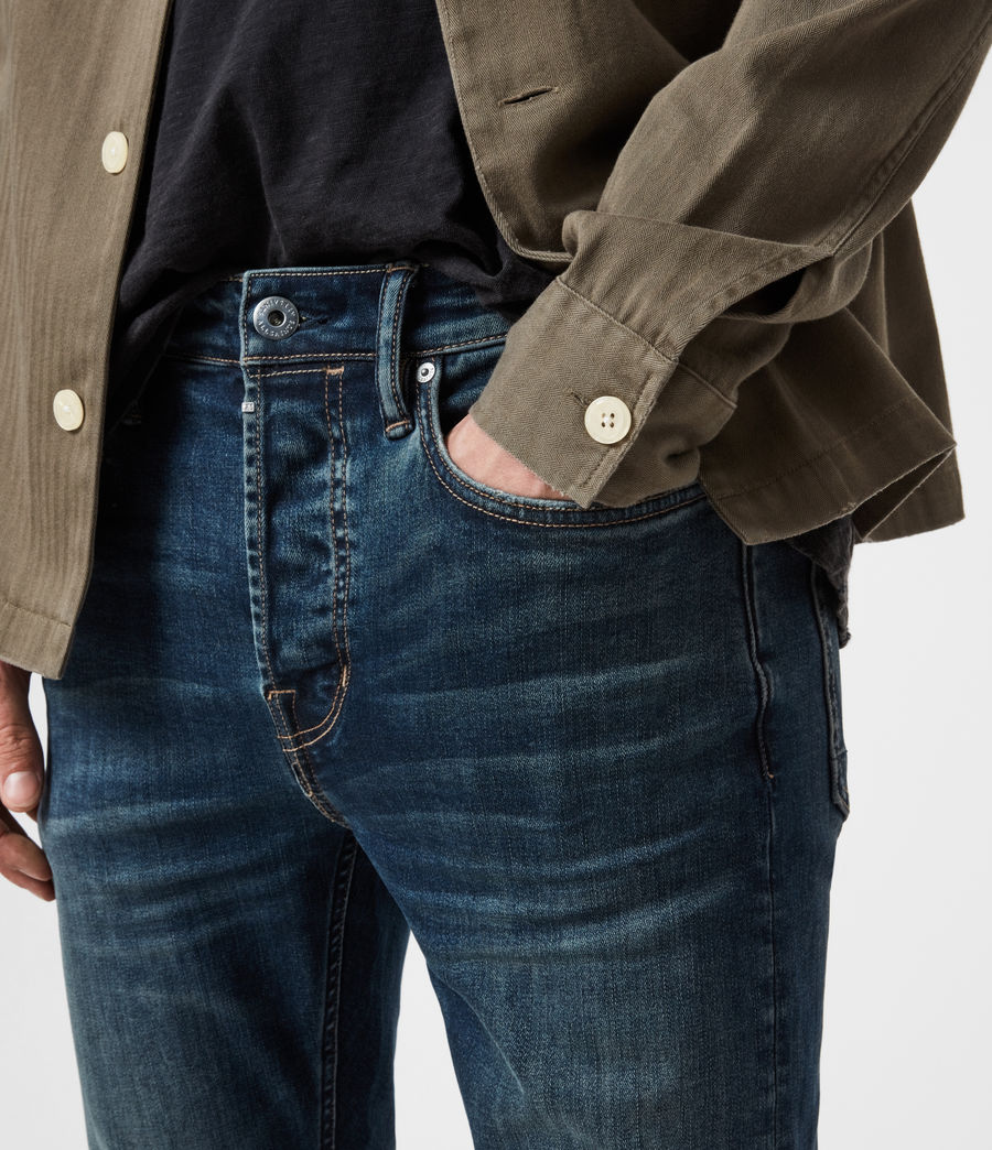 Men's Ronnie Extra Skinny Jeans, Washed Indigo (washed_indigo) - Image 6