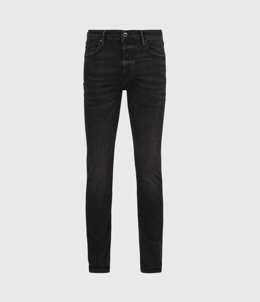 Men's Ronnie Extra Skinny Jeans, Washed Black (washed_black) - Image 2