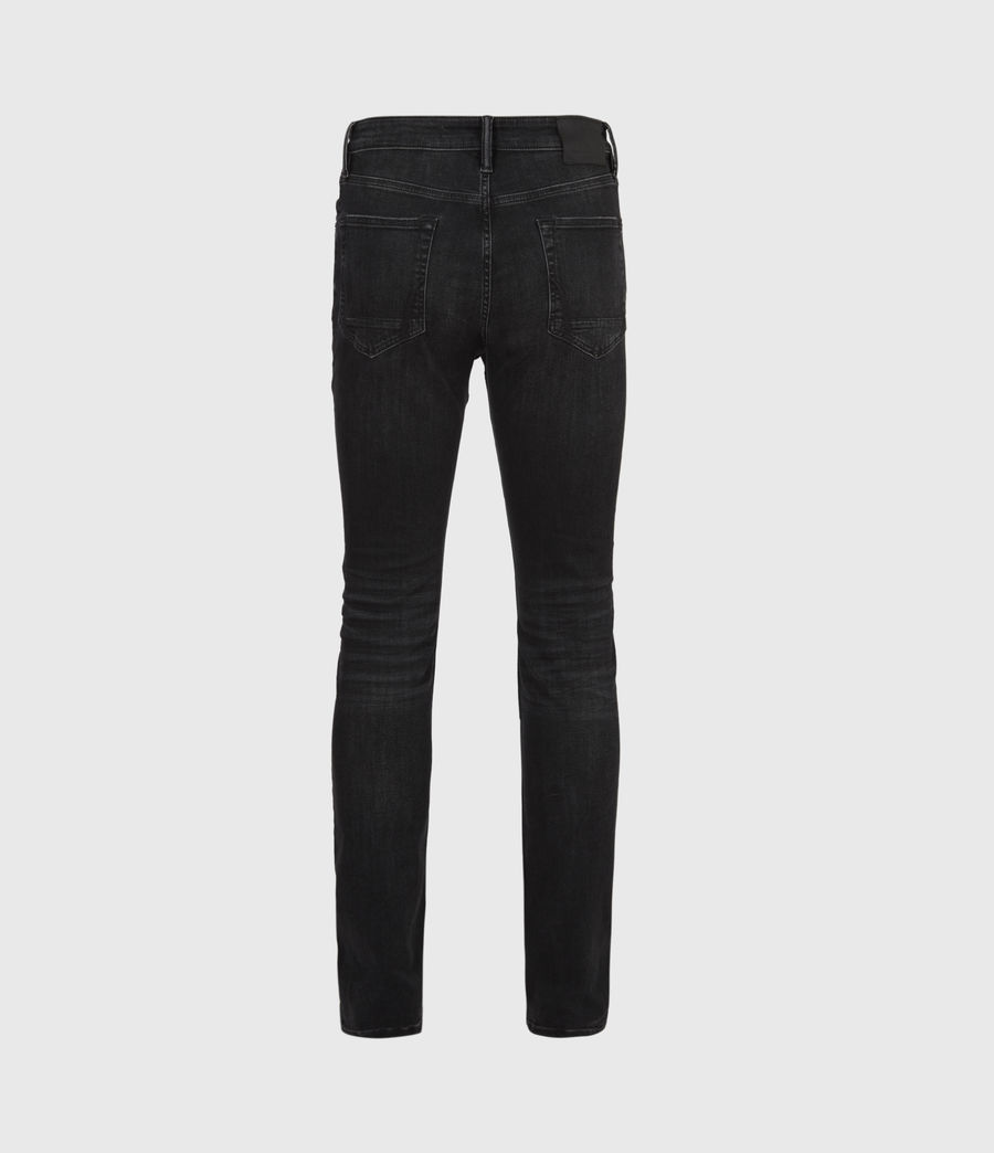 Men's Ronnie Extra Skinny Jeans, Washed Black (washed_black) - Image 3