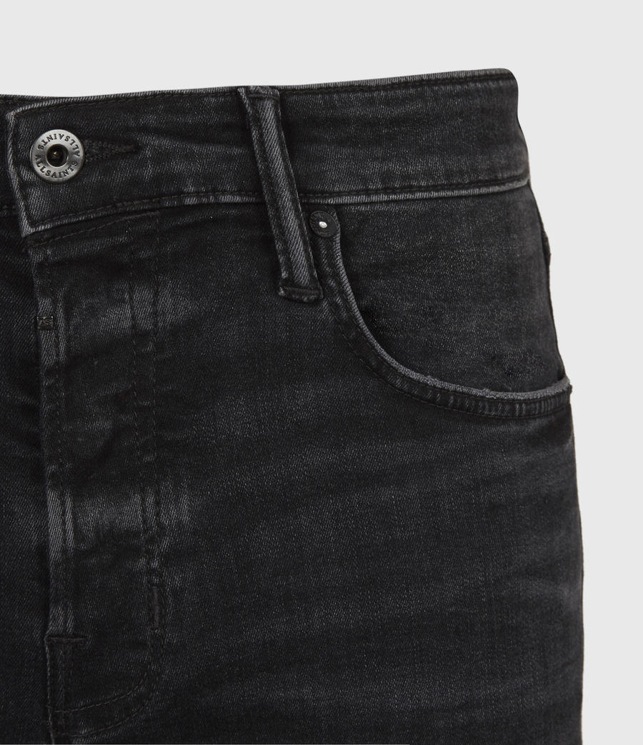 Men's Ronnie Extra Skinny Jeans, Washed Black (washed_black) - Image 5