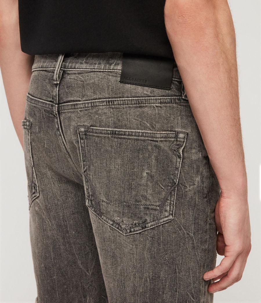 Herren Switch Jeansshorts (grey) - Image 5