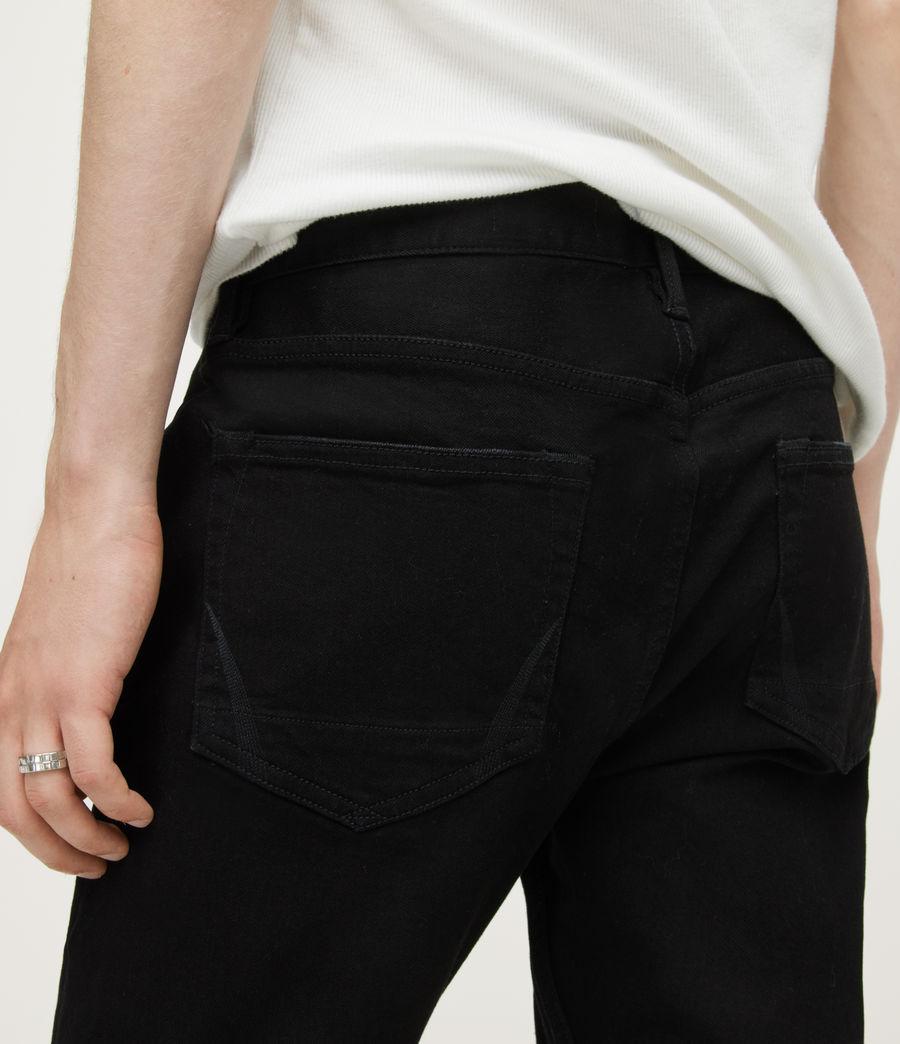 Uomo Jeans Cigarette - Aderenti - Nero (jet_black) - Image 5