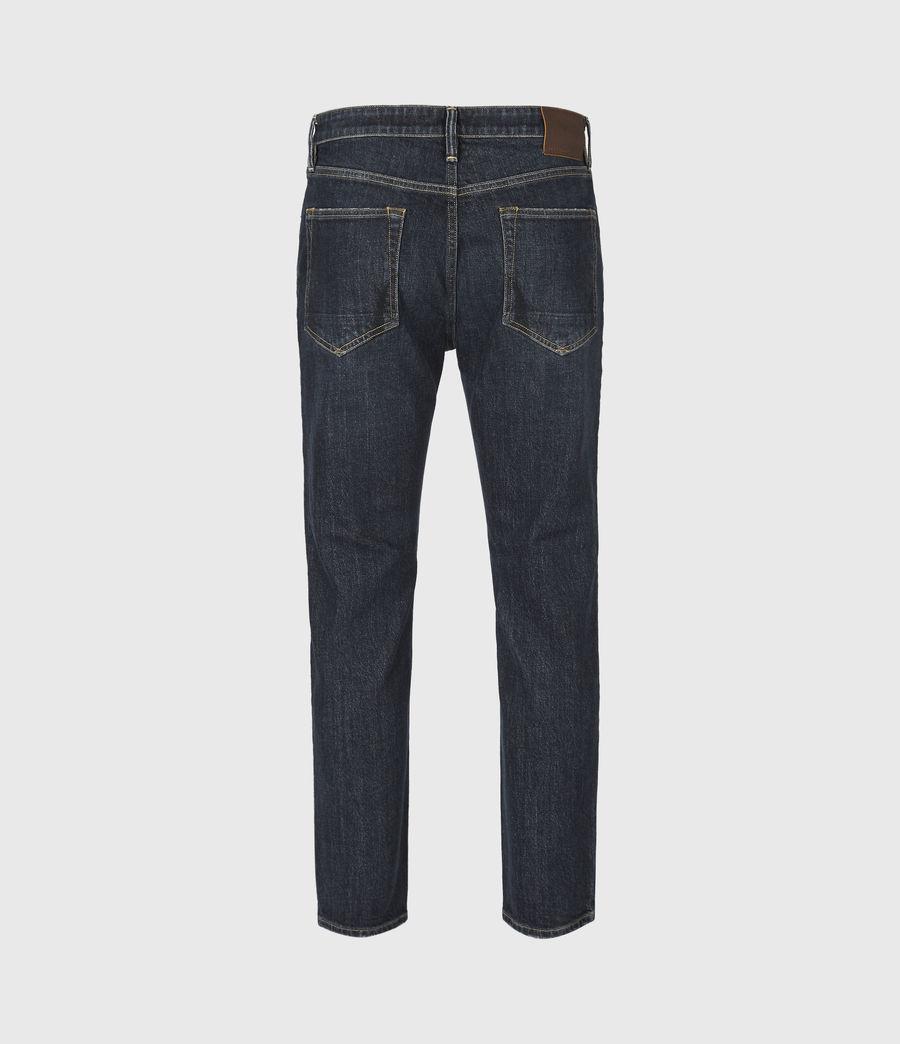 Men's Dean Cropped Slim Jeans, Dark Indigo (dark_indigo) - Image 3