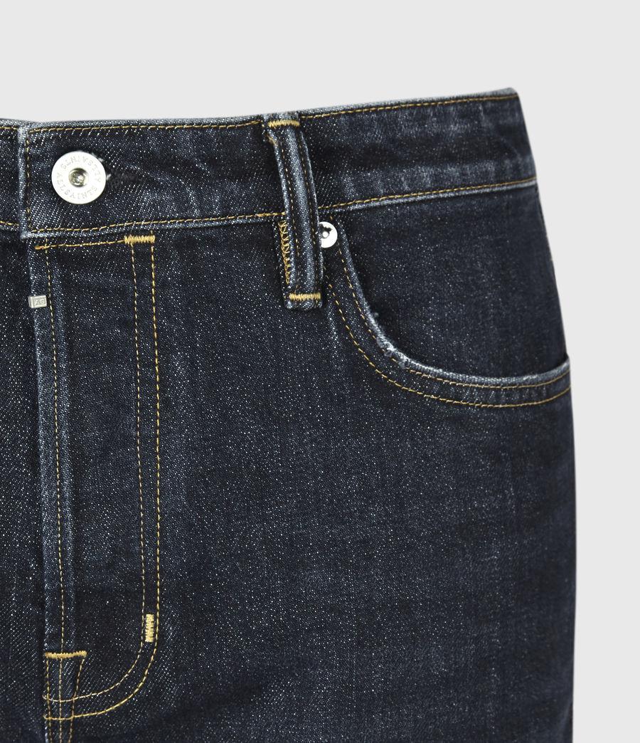 Men's Dean Cropped Slim Jeans, Dark Indigo (dark_indigo) - Image 5