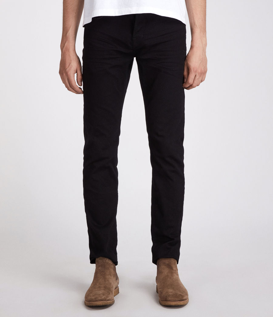 Men's Bodmin Reed Straight Jeans (black) - Image 1