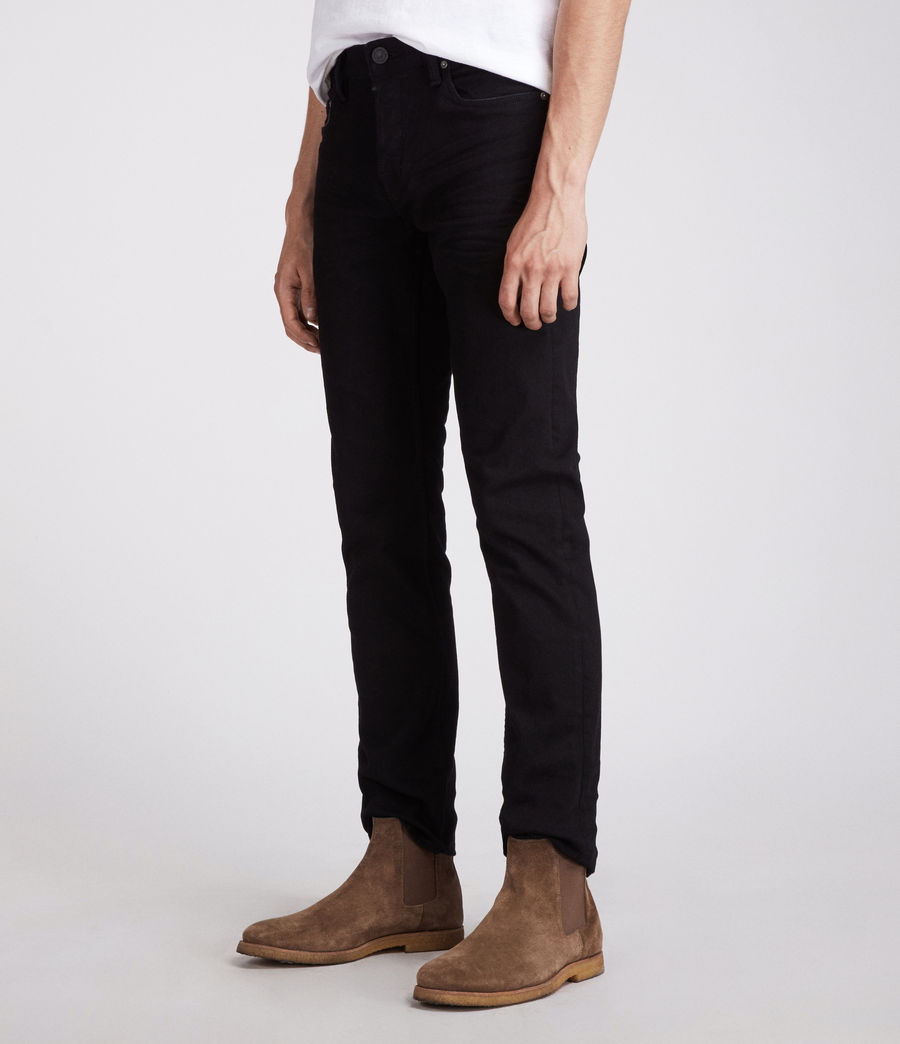 Mens Bodmin Reed Straight Jeans (black) - Image 3