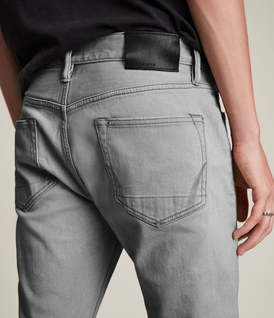 Hombre Jeans Cigarette Skinny (grey) - Image 3
