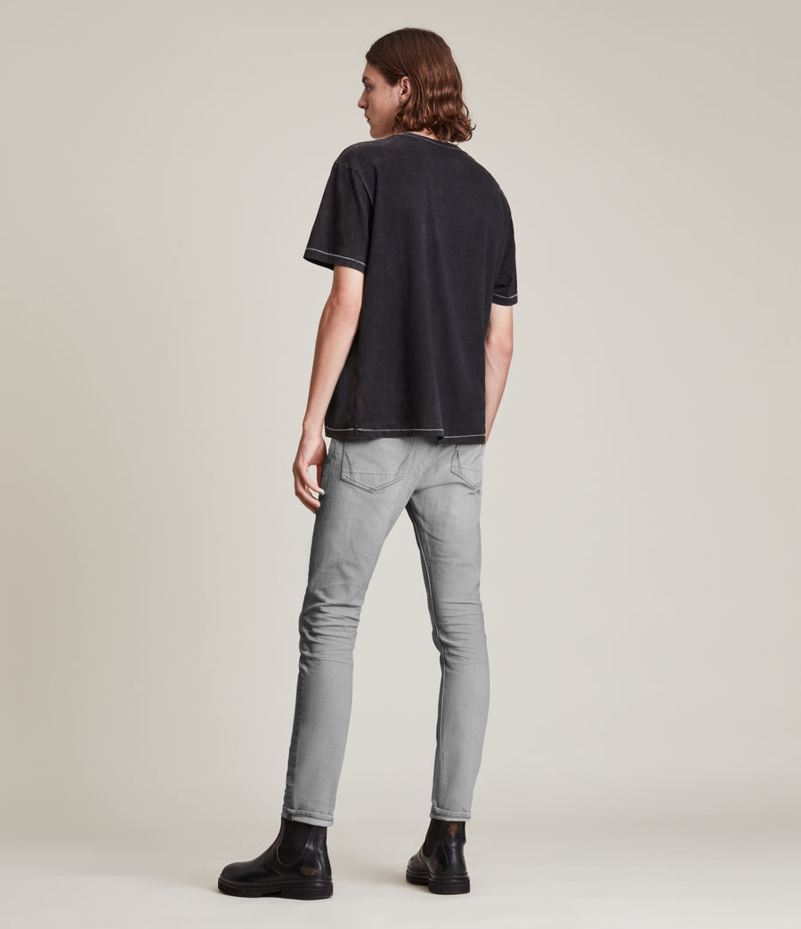 Hombre Jeans Cigarette Skinny (grey) - Image 4